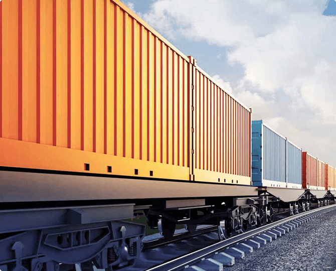 Container shipping from China to Russia