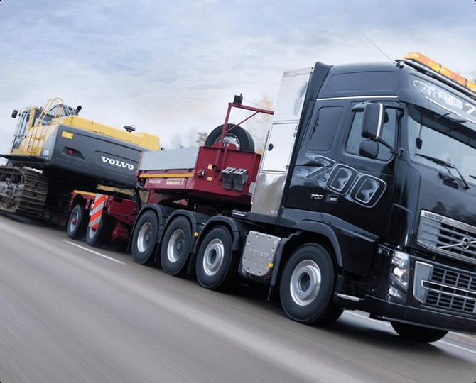 Oversized cargo transportation in Russia