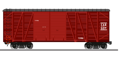 Covered wagons and platforms