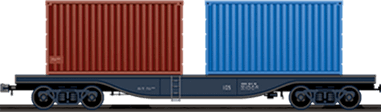 20 and 40 ft. containers